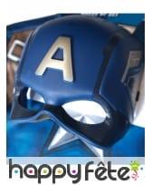 Masque et T-shirt de Captain America pour enfant, image 4