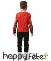 Masque et T-shirt de Iron Man pour enfant, image 1