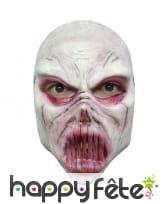 Masque facial de goule en latex