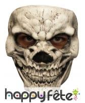 Masque facial de vilaine tête de mort