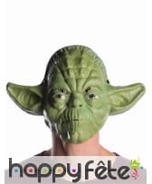 Masque facial de Yoda pour adulte, image 1
