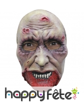 Masque faciale de zombie en latex