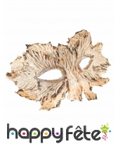 Masque feuille ivoire, image 1