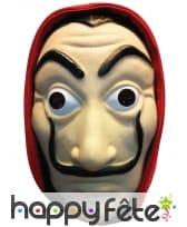 Masque facial La casa de Papel en carton
