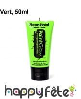 Maquillage fluo visage et corps UV 50ml, image 2