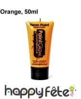 Maquillage fluo visage et corps UV 50ml, image 5