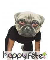 Masque géant de chien pour adulte, image 2
