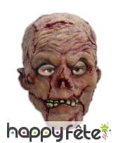 Masque grosse tête de zombie
