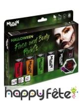 Maquillage Halloween pour visage et corps, 12ml, image 1