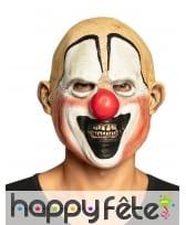 Masque intégral de clown chauve pour adulte