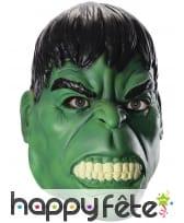 Masque intégral de Hulk en colère pour adulte