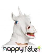 Masque intégral de licorne