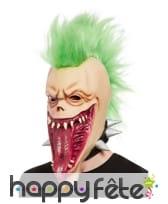 Masque intégral de monstre punk pour adulte