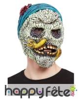 Masque intégral de pirate tête de mort pour adulte
