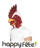Masque intégral de poulet