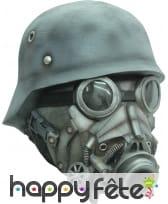 Masque intégral de soldat masque à gaz
