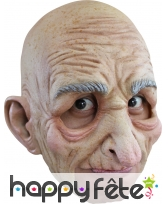 Masque intégral de vieil, ouverture de bouche