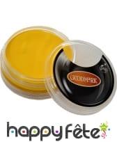 Maquillage jaune à l'eau, 14gr