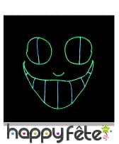 Masque LED de chat sournois pour adulte, image 1