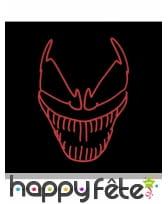 Masque LED de Venom pour adulte, image 1