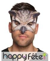 Masque loup de hibou pour adulte