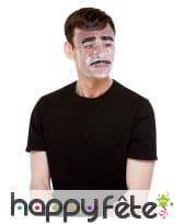 Masque moustachu transparent pour homme, image 1