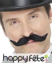Moustache noires transformable