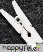 Mini pinces à linge en bois, image 1