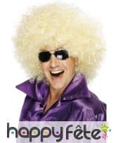 Méga perruque blonde afro