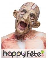 Masque putréfié de zombie bouche ajourée