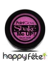 Maquillage pailleté UV réactif, image 1