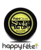 Maquillage pailleté UV réactif, image 3