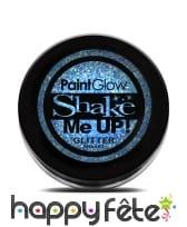 Maquillage pailleté UV réactif, image 4
