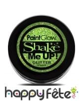 Maquillage pailleté UV réactif, image 5