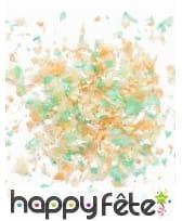 Mini sachet confettis ignifugé couleur menthe