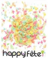 Mini sachet confettis ignifugé multicolore