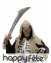 Masque squelette de la mort pour enfant