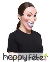 Masque sourire visieux pour femme, image 1