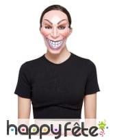Masque sourire visieux pour femme