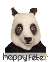 Masque tête de panda intégral