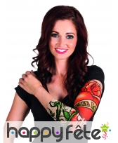 Manche tatouages imprimée true love