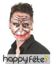 Masque transparent sourire du joker, image 1