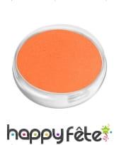Maquillage visage corps orange, image 1