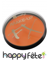 Maquillage visage corps orange, image 3