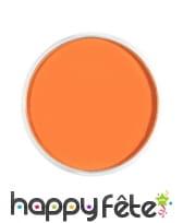 Maquillage visage corps orange, image 2