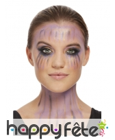 Maquillage visage de diseuse de bonne aventure, image 2