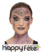 Maquillage visage de diseuse de bonne aventure, image 3