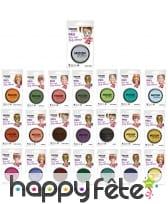 Maquillage visage et corps en pot de 36g