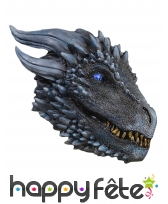 Masque Viserion Game of thrones pour adulte, luxe