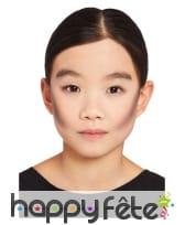 Maquillage visage Le jour des morts pour enfant, image 1